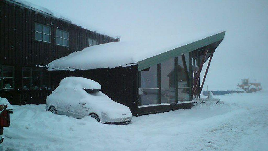 Juvvasshøe ved juvashytta var kaldest i landet fra klokken 22 mandag til klokken 0700 tirsdag.