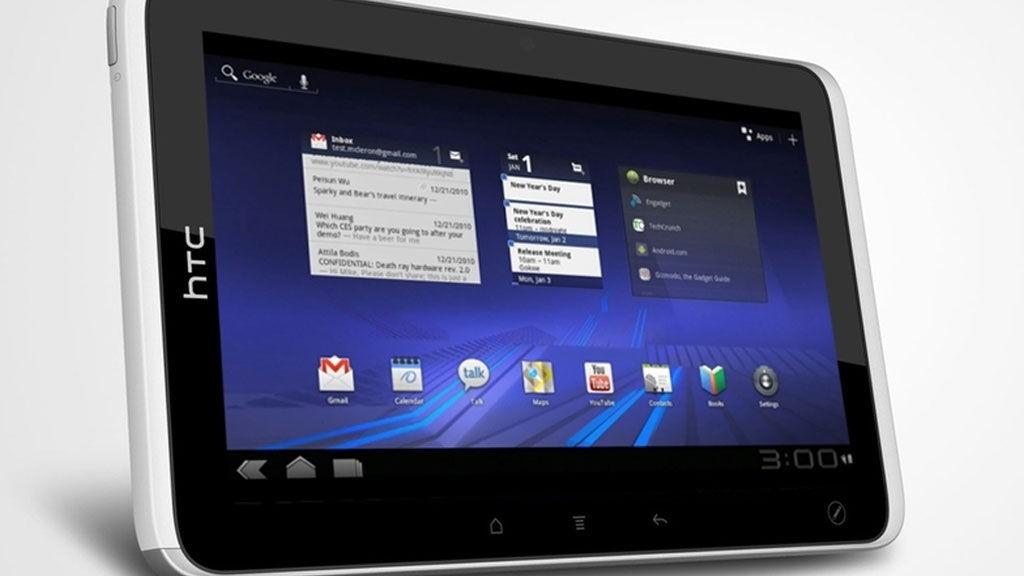 HTC Flyer minner ganske mye om Samsung Galaxy Tab som kom på markedet i fjor.