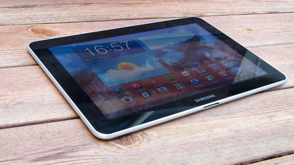 Samsung Galaxy Tab 10.1 i endelig versjon.