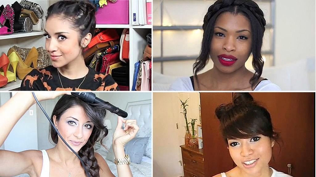 INSTRUKSJONSVIDEOER: Disse jentene guider deg til stilige frisyrer.