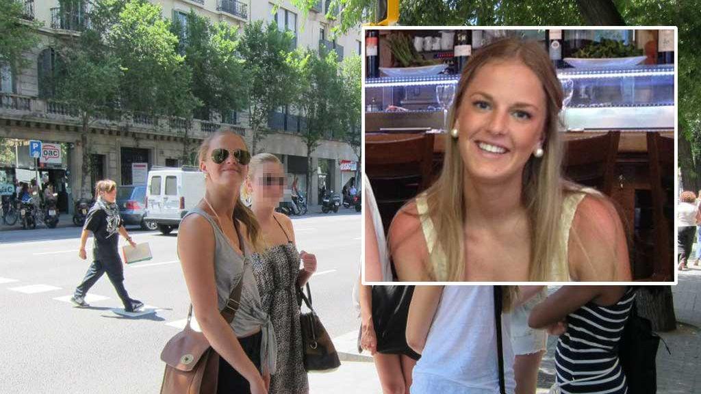 Barcelona: Pernille Kloster ble frastjålet vesken sin på under 30 sekunder.