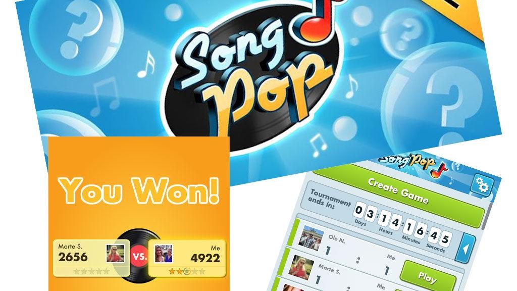 SongPop, appen som går både WordFeud og DrawSomething en god gang. Spør du oss, da. Slår du highscoren vår innen 17.august, er du med i trekningen av flotte premier.